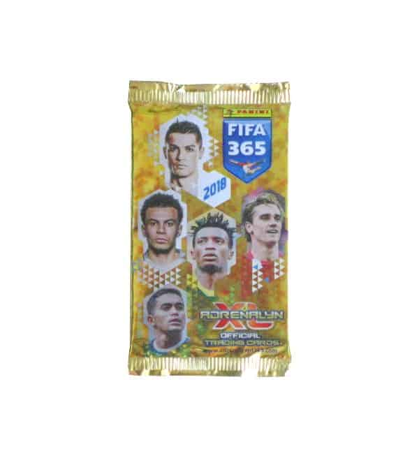 Panini FIFA 365 2018 Adrenalyn XL Tüte