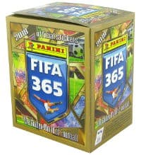 Panini FIFA 365 2018 Sticker Display mit 50 Tüten