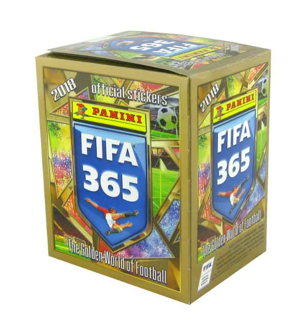 Panini FIFA 365 2018 Sticker Display 50 Tüten