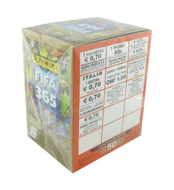 Panini FIFA 365 2018 Sticker Display Preis