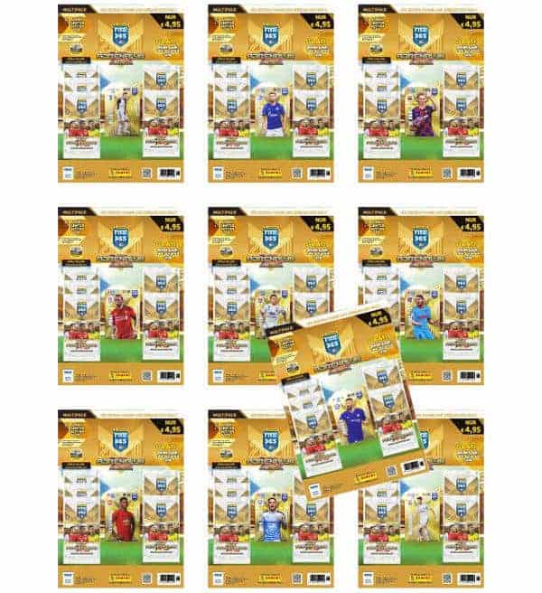 Panini FIFA 365 2020 Adrenalyn XL - Alle 10 Multipack