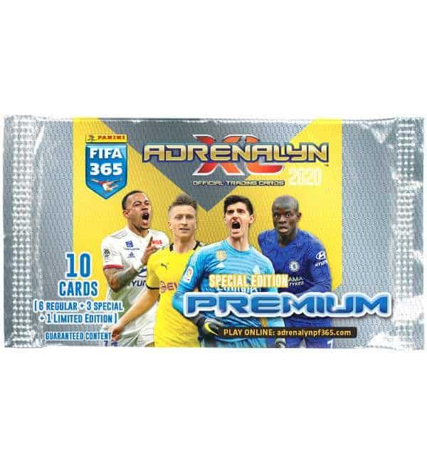 PANINI ADRENALYN XL FIFA 365 2020 Premium 2 X Display//20 booster
