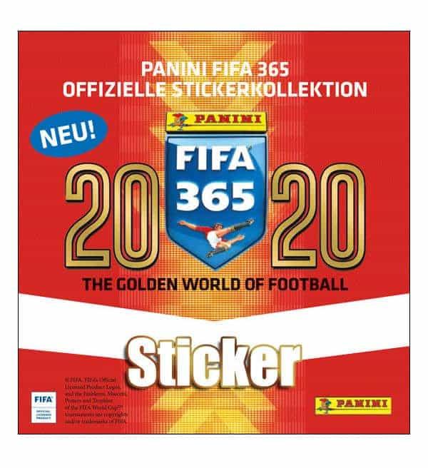 50 Tüten Panini Fifa 365 2020 Sticker 1 x Display