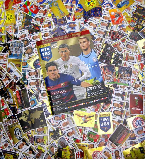Panini FIFA 365 - Alle Sticker + Album