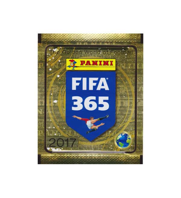 Panini FIFA 365 Sticker 2017 - Tüte Gold