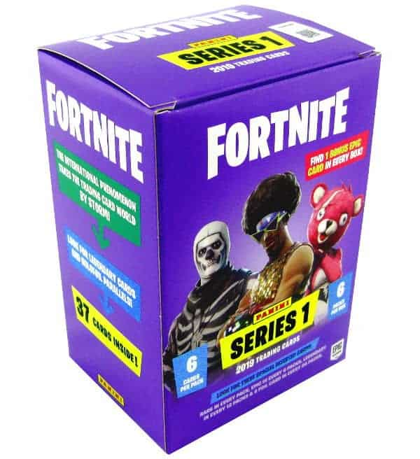 Panini Fortnite  Serie 1 Trading Cards 10 x Blaster Box mit je 6 Booster Epic