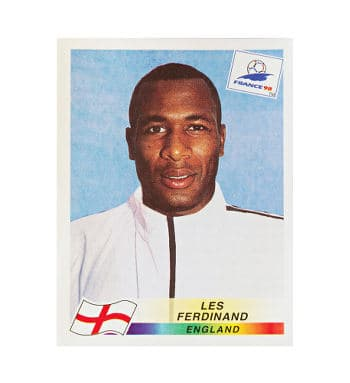 Panini WM France 98 Sticker 478 Les Ferdinand vorne