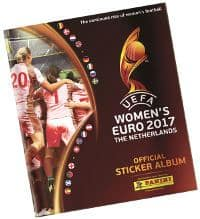 Panini Frauen EM 2017 Sticker Album
