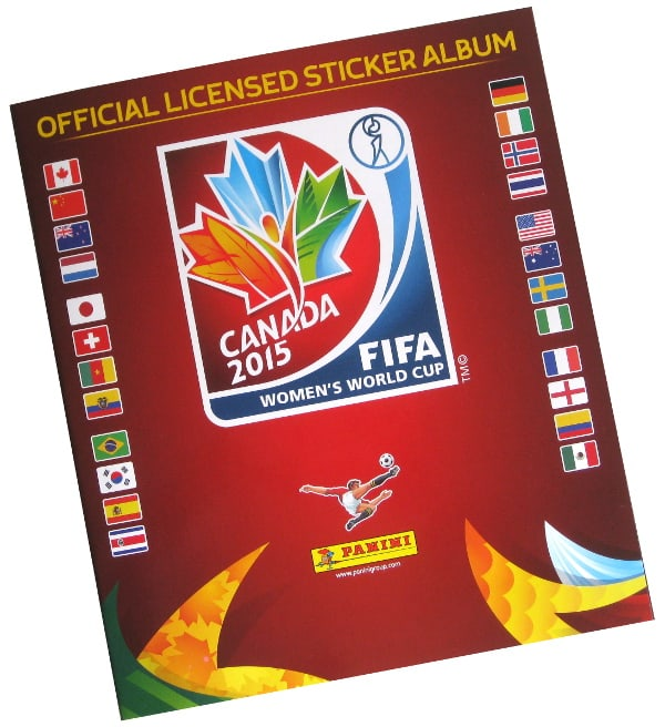 Panini Frauen WM 2015 Sticker Album