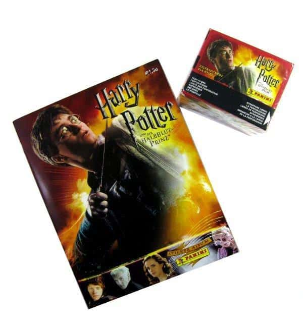 Panini Harry Potter Halbblutprinz Album & Display