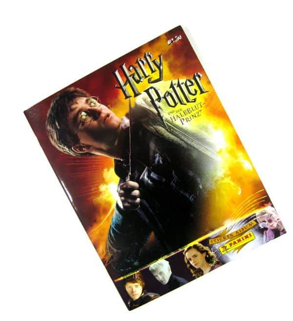 Panini Harry Potter Halbblutprinz Stickeralbum