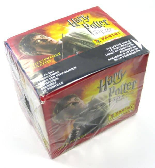 Panini Harry Potter Halbblutprinz Display - Box Seite