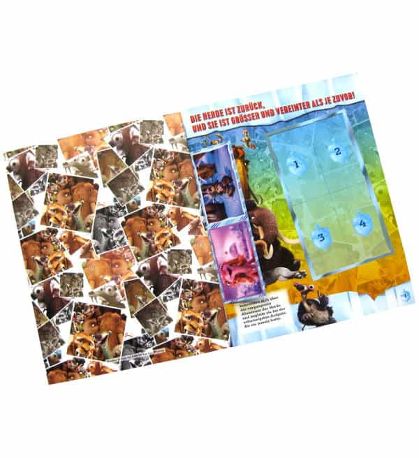 Panini Ice Age 5 Sticker-Album Intro