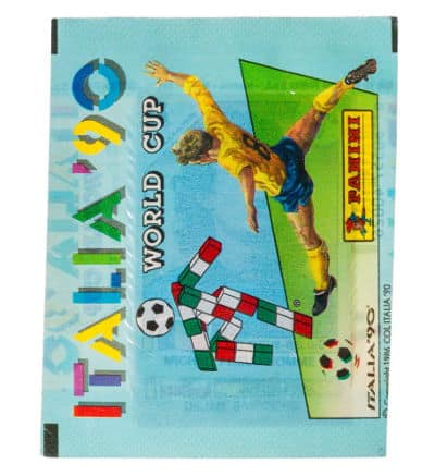 Panini Italia 90 - Tüte WM 1990 Version Europa