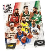 Panini NBA 2018 2019 Sticker Album