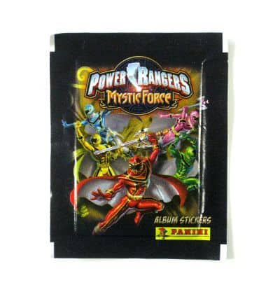 Panini Power Rangers Mystic Force Tüte