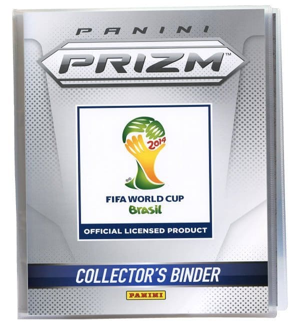 Panini Prizm Cards WM Brasil 2014 Display offen