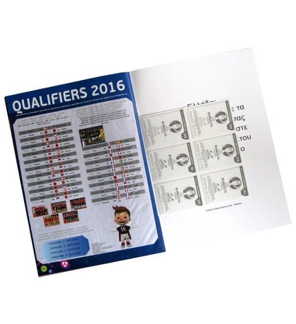 Panini Road to Euro 2016 Sticker Album Qualifikation