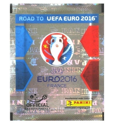 Panini Road to Euro 2016 Sticker Tüte