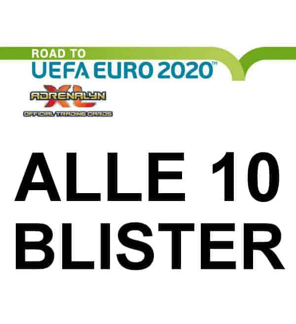 Panini Road to Euro 2020 Adrenalyn XL - Alle 10 Blister
