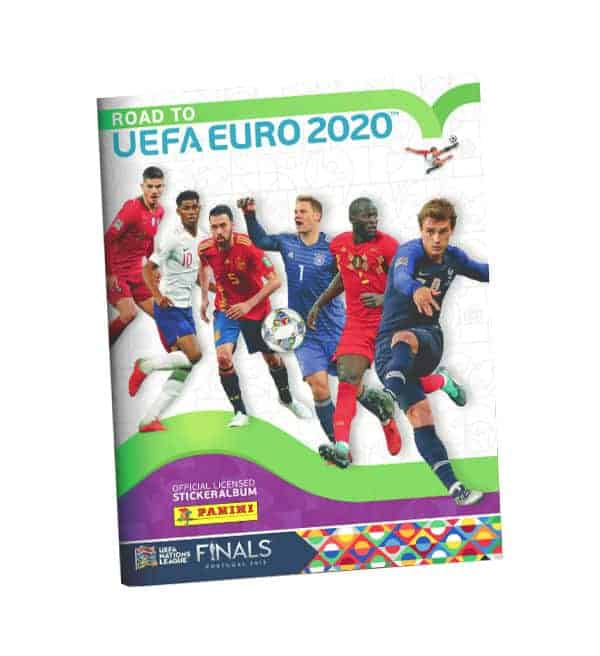 Panini Road to Euro 2020 Sticker Sammelalbum
