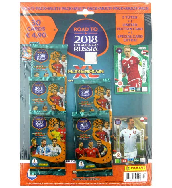 Panini Road to Russia 2018 Adrenalyn XL Multipack Arkadiusz Milik