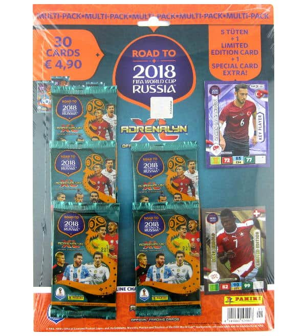 Panini Road to Russia 2018 Adrenalyn XL Multipack Breel Embolo