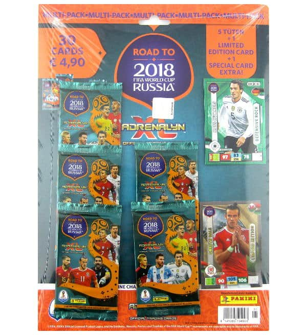 Panini Road to Russia 2018 Adrenalyn XL Multipack Gareth Bale