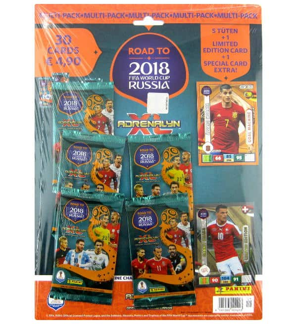 Panini Road to Russia 2018 Adrenalyn XL Multipack Granit Xhaka