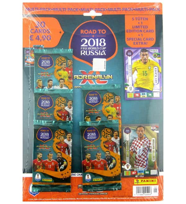 Panini Road to Russia 2018 Adrenalyn XL Multipack Ivan Rakitic
