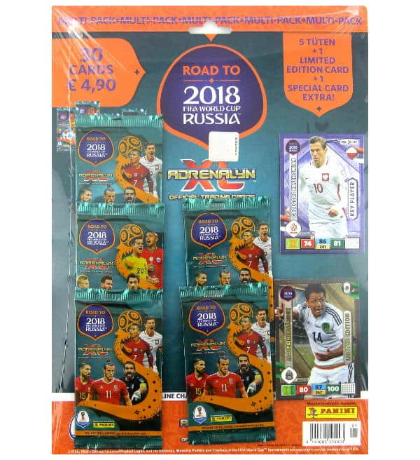 Panini Road to Russia 2018 Adrenalyn XL Multipack Javier Hernandez