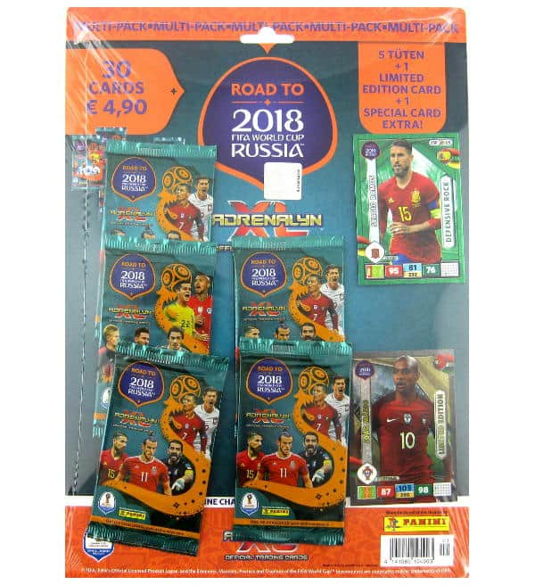 Panini Road to Russia 2018 Adrenalyn XL Multipack Joao Mario