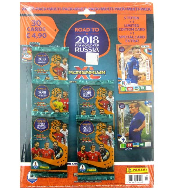Panini Road to Russia 2018 Adrenalyn XL Multipack Joel Pohjanpalo