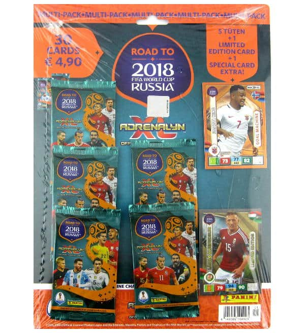 Panini Road to Russia 2018 Adrenalyn XL Multipack Laszlo Kleinheisler
