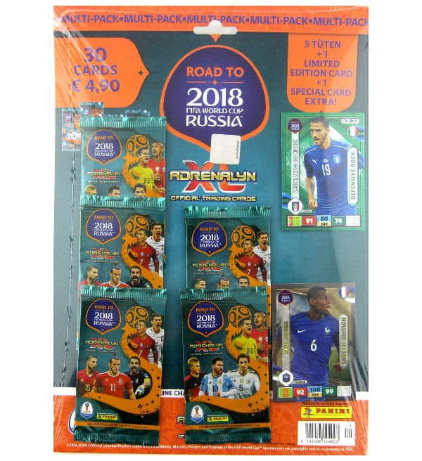 Panini Road to Russia 2018 Adrenalyn XL Multipack Paul Pogba