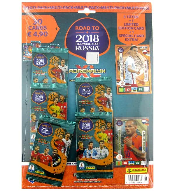 Panini Road to Russia 2018 Adrenalyn XL Multipack Wesley Sneijder
