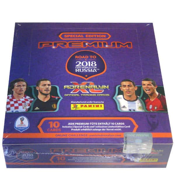 Panini Road to Russia 2018 Adrenalyn XL Premium Booster Box