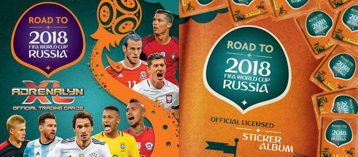 Panini Road to Russia 2018