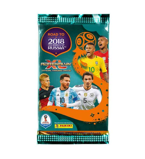 Panini Road to Russia 2018 Adrenalyn XL Booster