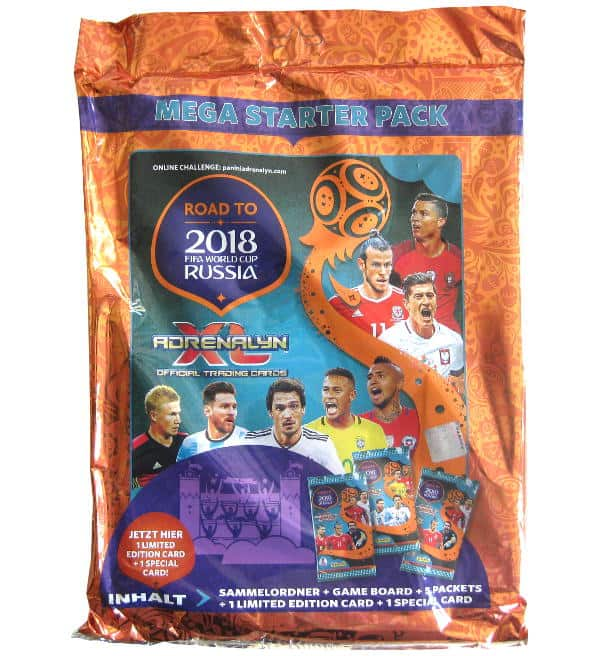 Panini Road to World Cup 2018 Adrenalyn XL Starter Set