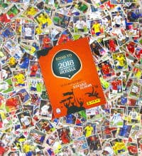 Panini Road to World Cup 2018 - Alle 480 Sticker + Album