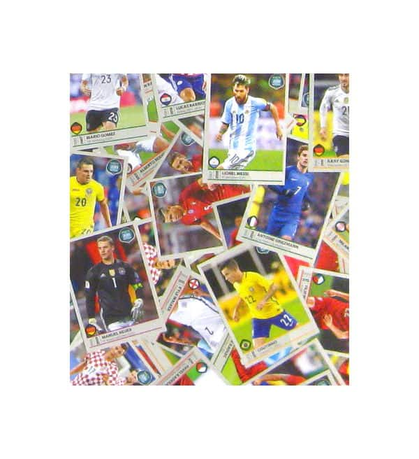 Panini Road to World Cup 2018 komplett alle Sticker
