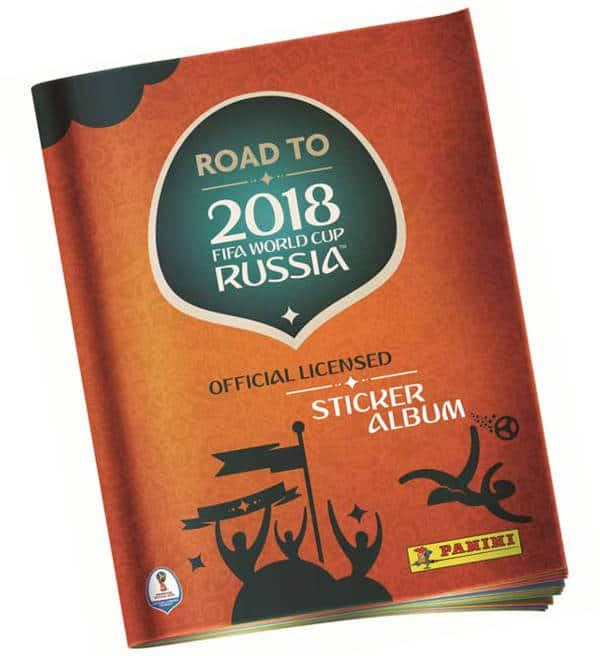 Panini Road to World Cup 2018 Sticker Album