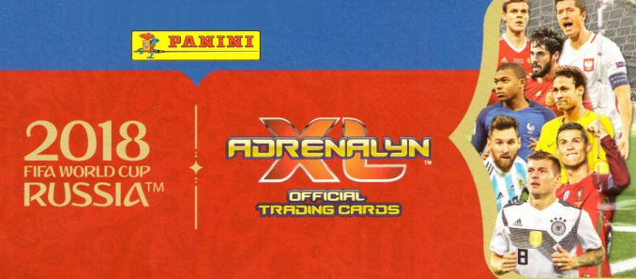 Panini Russia 2018 Adrenalyn XL Presale
