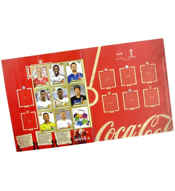 Panini WM 2018 - Gold Edition Album Sticker