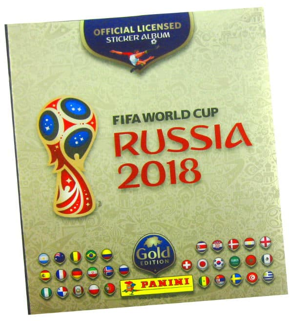Panini WM 2018 - Gold Edition Album