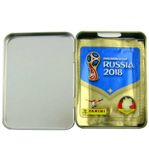 Panini WM 2018 Sticker - Mini Tin