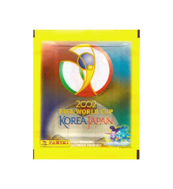 Panini WM 2002 Korea Japan Tüte Kanada