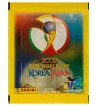 Panini WM 2002 Korea Japan - Tüte mit 6 Stickern