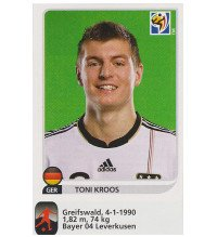 Panini WM 2010 Toni Kroos Update Sticker